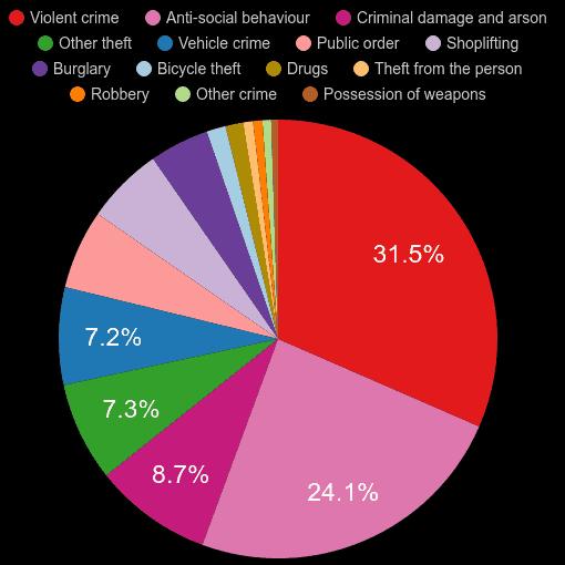 Bournemouth crime statistics
